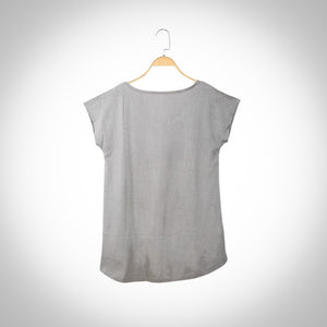 Neem infused Short Sleeve T-shirt  - Gray