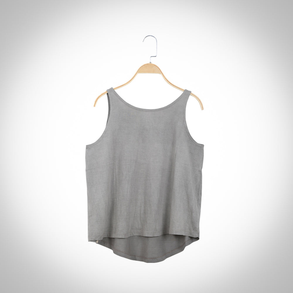 Neem infused Flared  T-shirt  - Gray