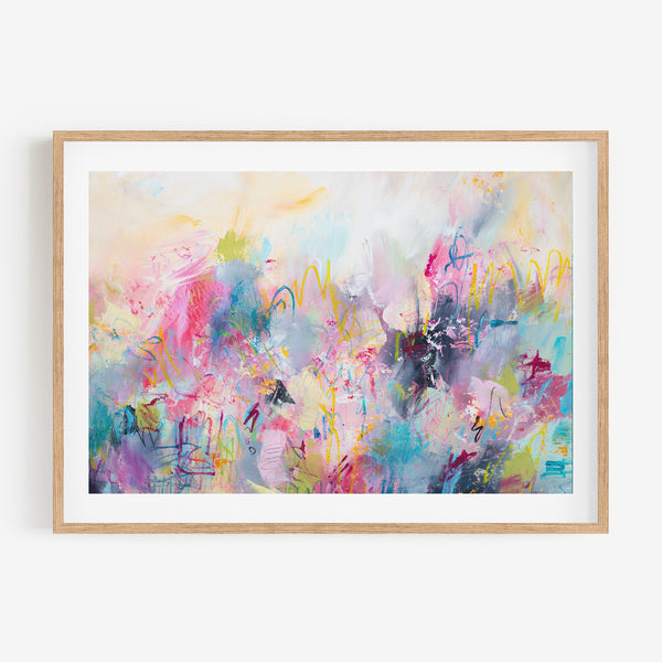 TRANSITIONS- Original Art Colourful Abstract Painting