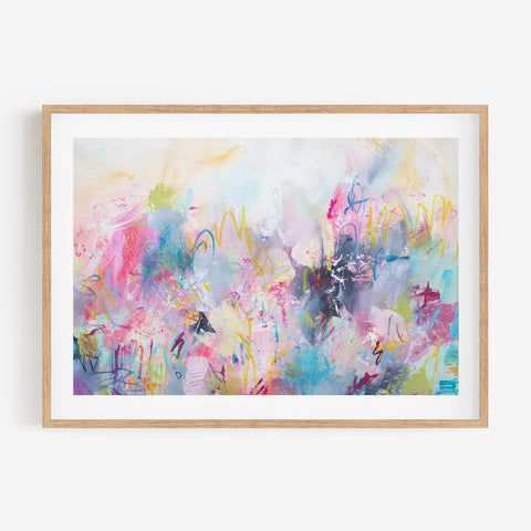 TRANSITIONS - Fine Art Abstract Print