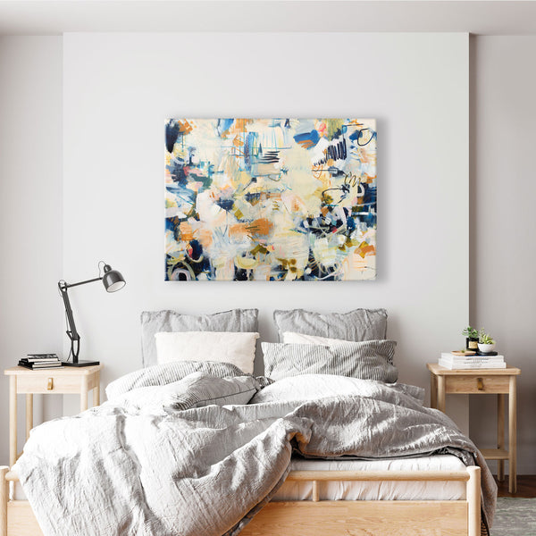 UNIMAGINABLE GIFTS - Original Art Abstract Painting