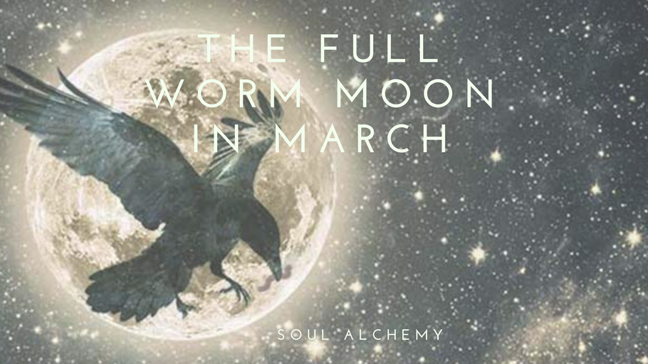 The Full Worm Moon 🌝 in March