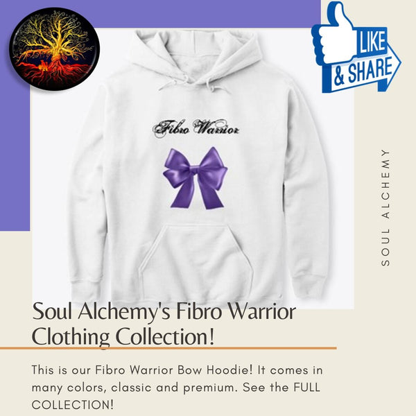 New In The Clothing Store! The Fibro Warrior Bow Collection!