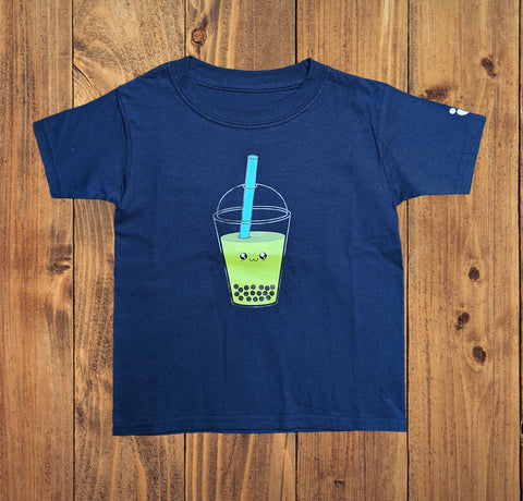 Bubble Tea Kids Tshirt - Bare It Designs Ltd.