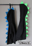 Dinosaur Spike Hoodie - Bare It Designs Ltd.