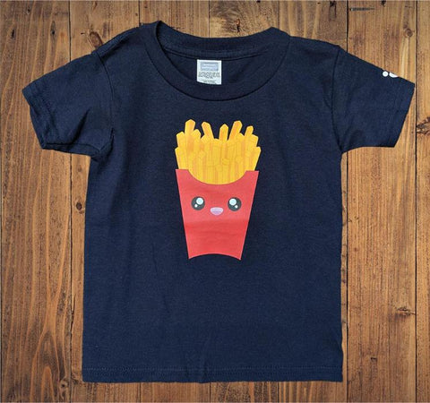Fries Kids Tshirt - Bare It Designs Ltd.
