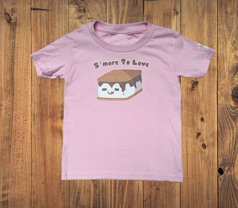 S'more To Love Kids Tshirt - Bare It Designs Ltd.