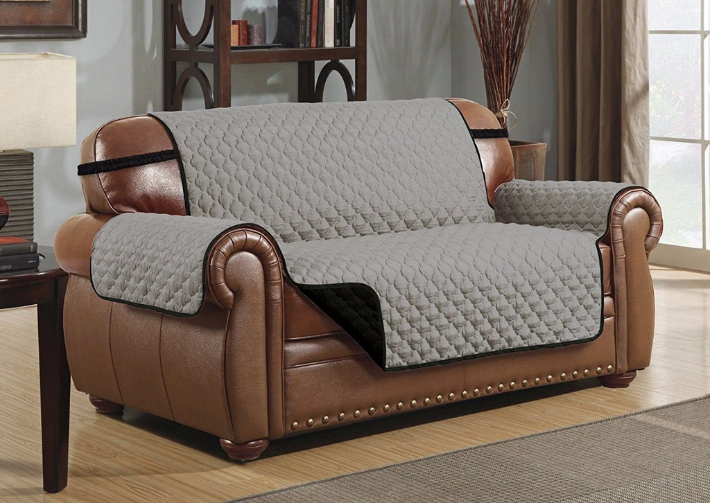 Le Benton Reversible Sofa Cover, Quilted Pet Couch Protector, Great ...