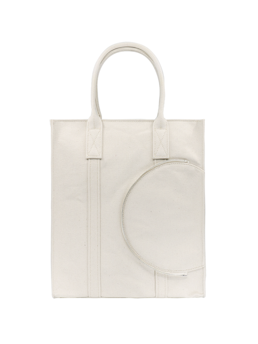 SYL Tote Bag in White