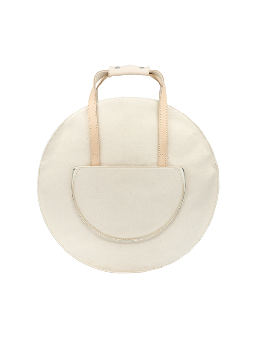 white round backpack multifunctional 3way handbag canvas
