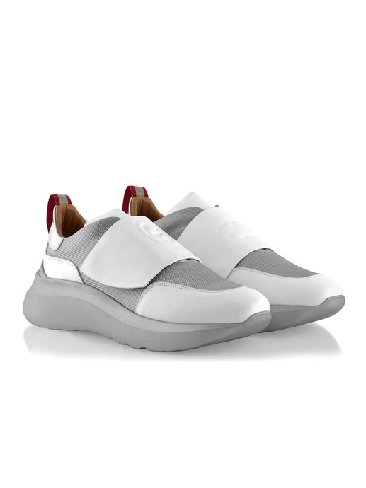 Ganor Art Sneakers Bip White Silver
