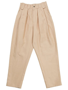 Pleated Trousers in Salmon