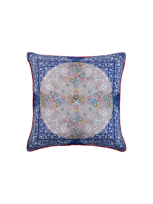 Blue Bandanna Cushion