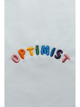 Optimist Embroidered Organic Cotton Tee CLOTHING BIRDSONG