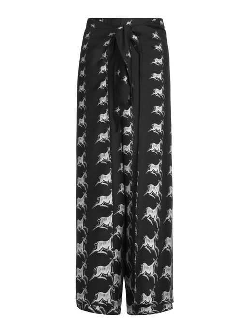 Animalier Wide Leg Trousers - LDC