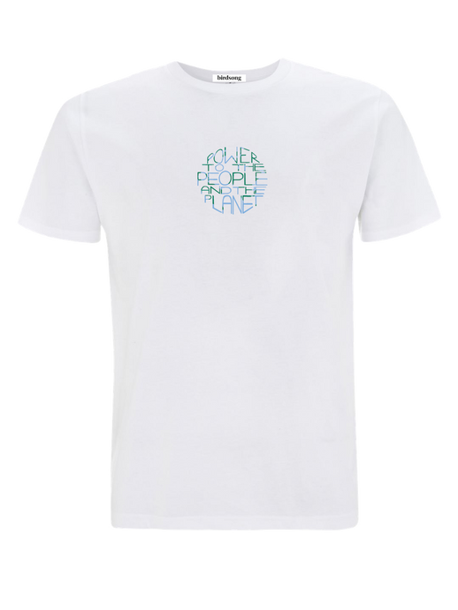Power to the People and the Planet Organic Cotton T-shirt