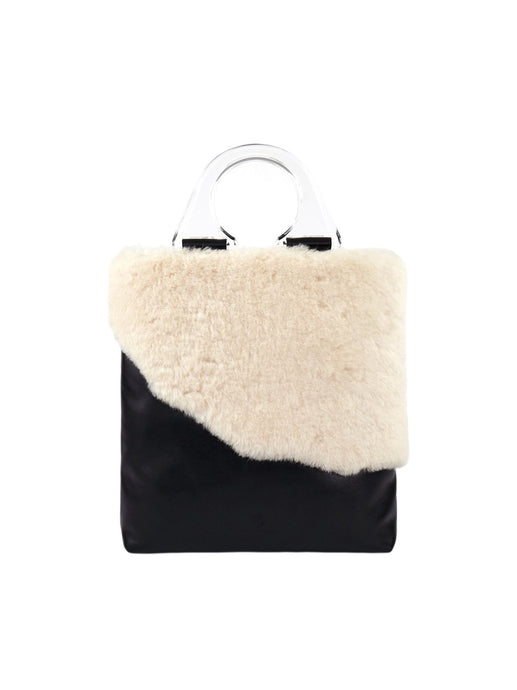 Sheep Fur Tote Bag