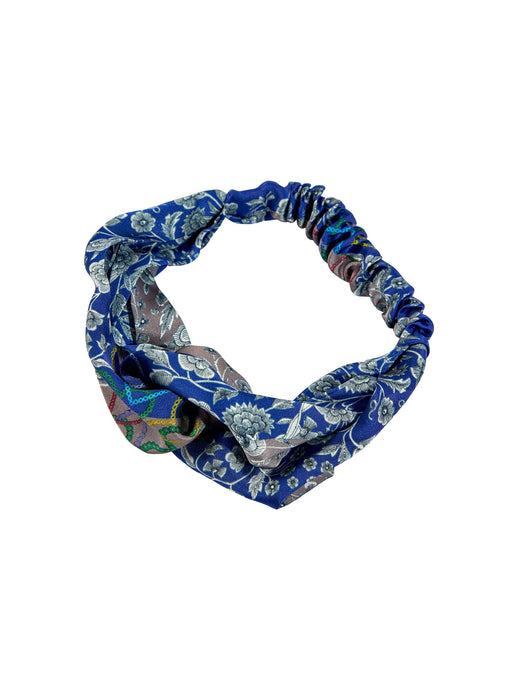 Blue Bandanna Headband
