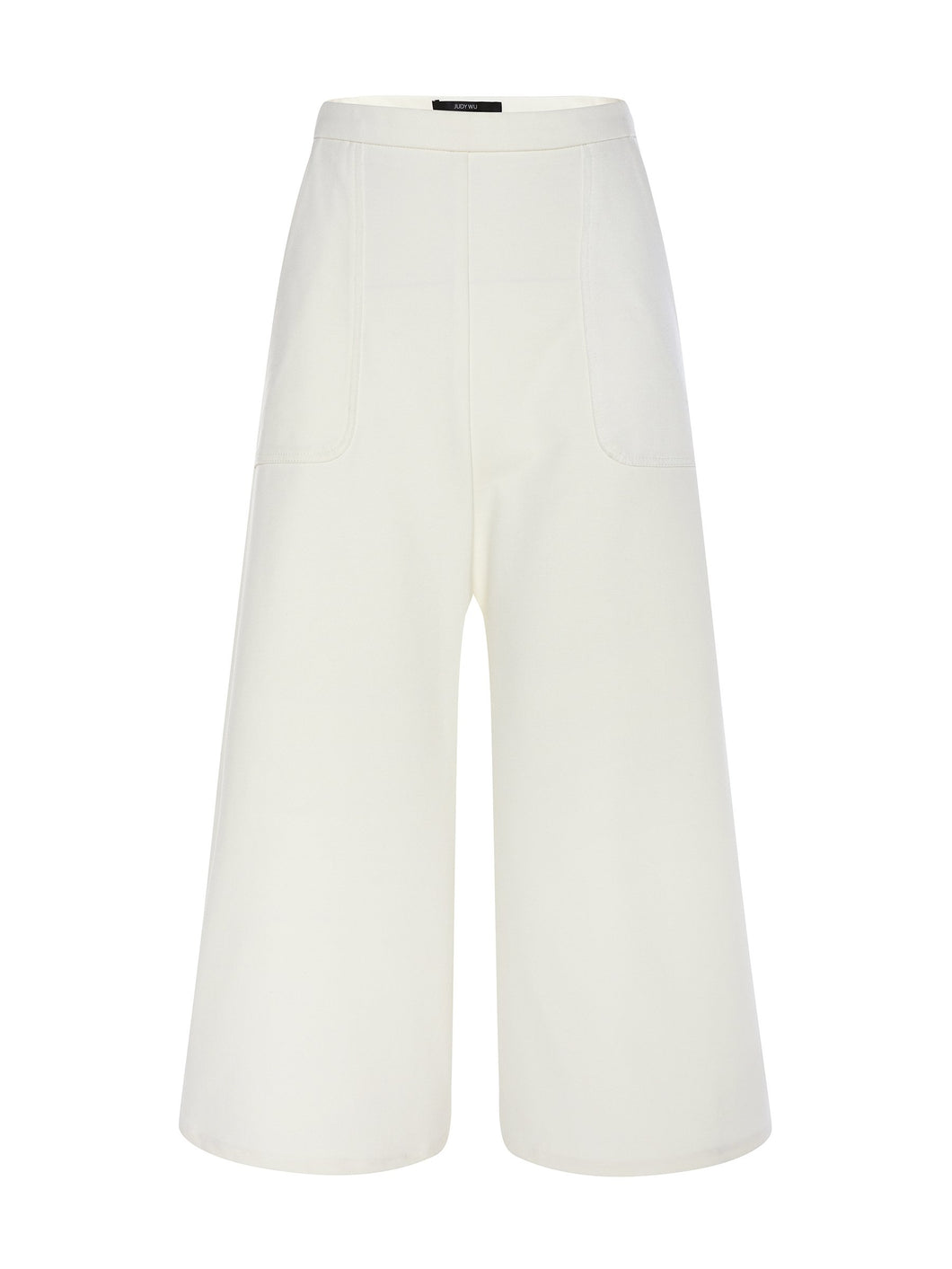 Ponte Roma 3/4 Lounge Culottes in White