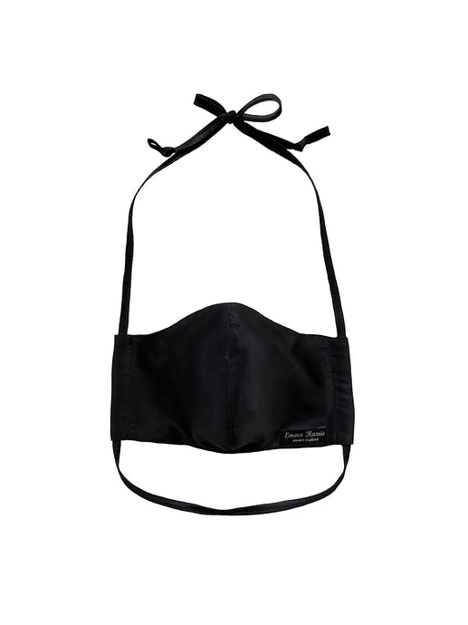 Non Medical Face Mask - Black Silk