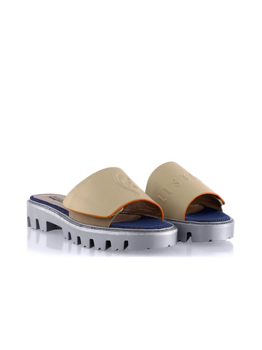 Ganor Art Slides OPS Beige flats