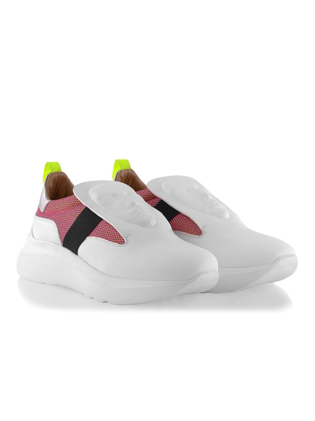 Ganor Art Sneakers Marcus White Pink