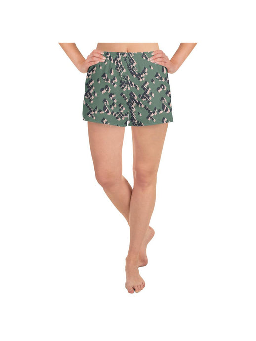 Patterned Ladies activewear shorts