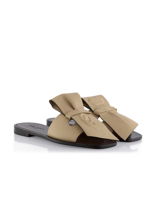 Art Slides Juniper brown tan flat