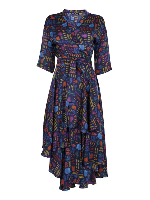 Gung Ho Airmiles Wrap Dress