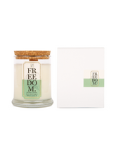 Freedom Essential Oil Wooden Wick Candle