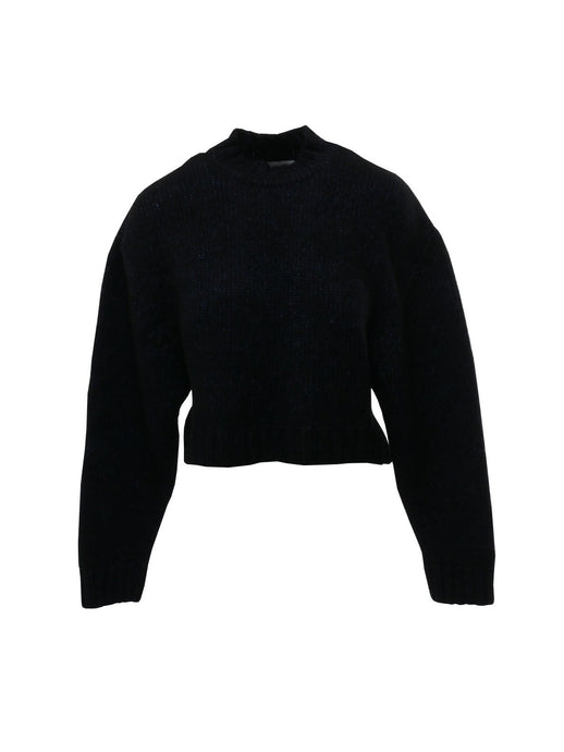 Le SLAP Gaono Knitted Sweater in Shiny Blue
