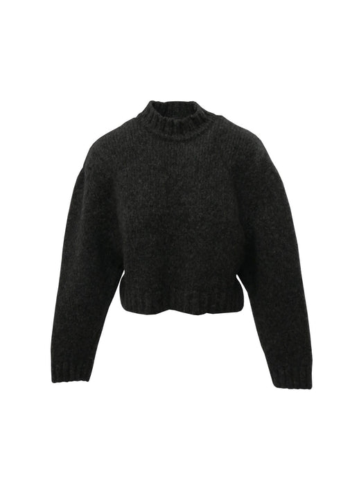 Le SLAP Gaono Knitted Sweater in Dark Grey