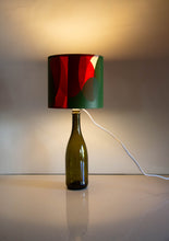 Handmade Orange and Green Lampshade