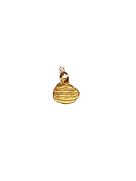 cj pendant gold plated