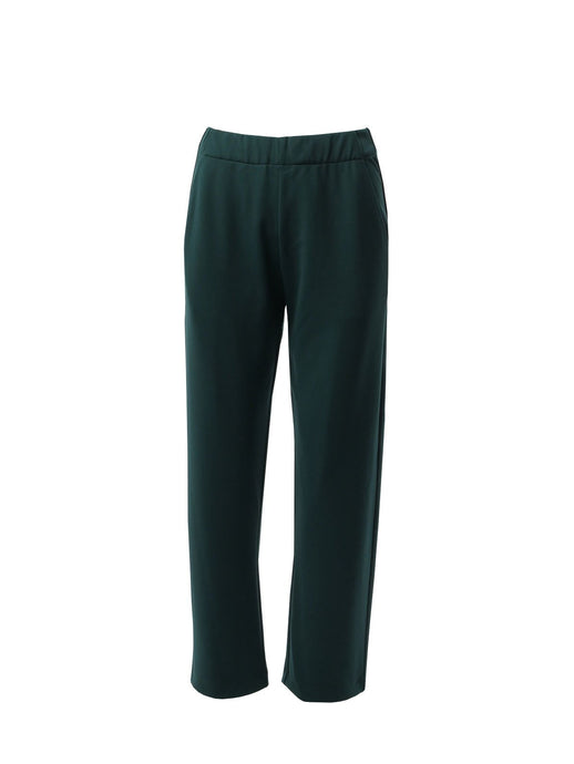 Lounge Straight-leg Pants in Forest Green