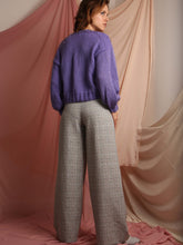Alex - Check Linen Trousers