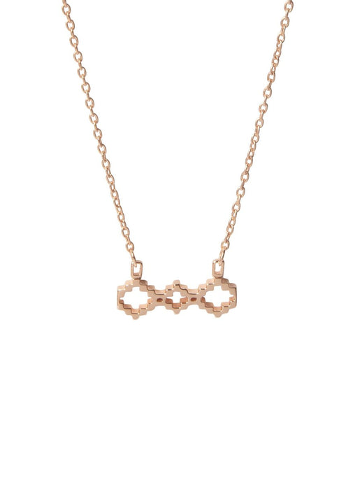 Baori Trinity Silhouette Necklace