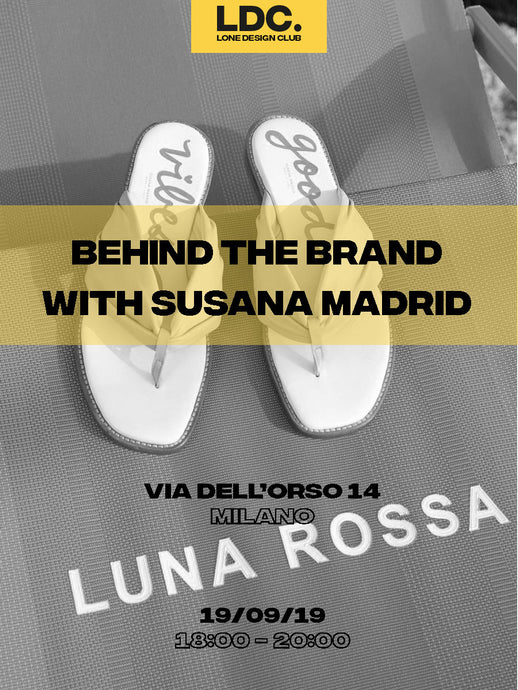 MFW Behind the Brand with Susana Madrid