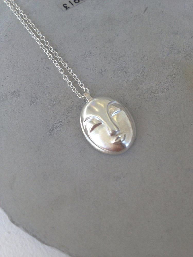 Deco Necklace - Sterling Silver