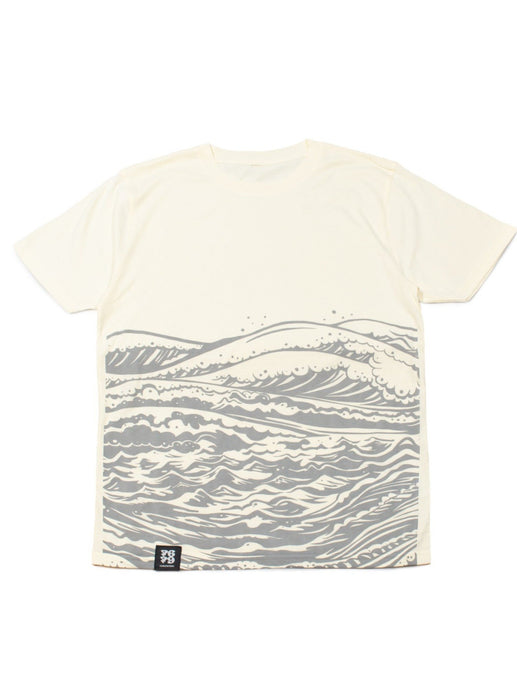 Organic Manga Cotton Tee - MotherSea in Sand