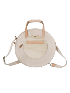 SYL Round Backpack in White