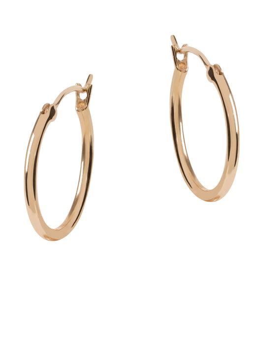 Amadeus Nudo Gold Hoop Earrings - LDC