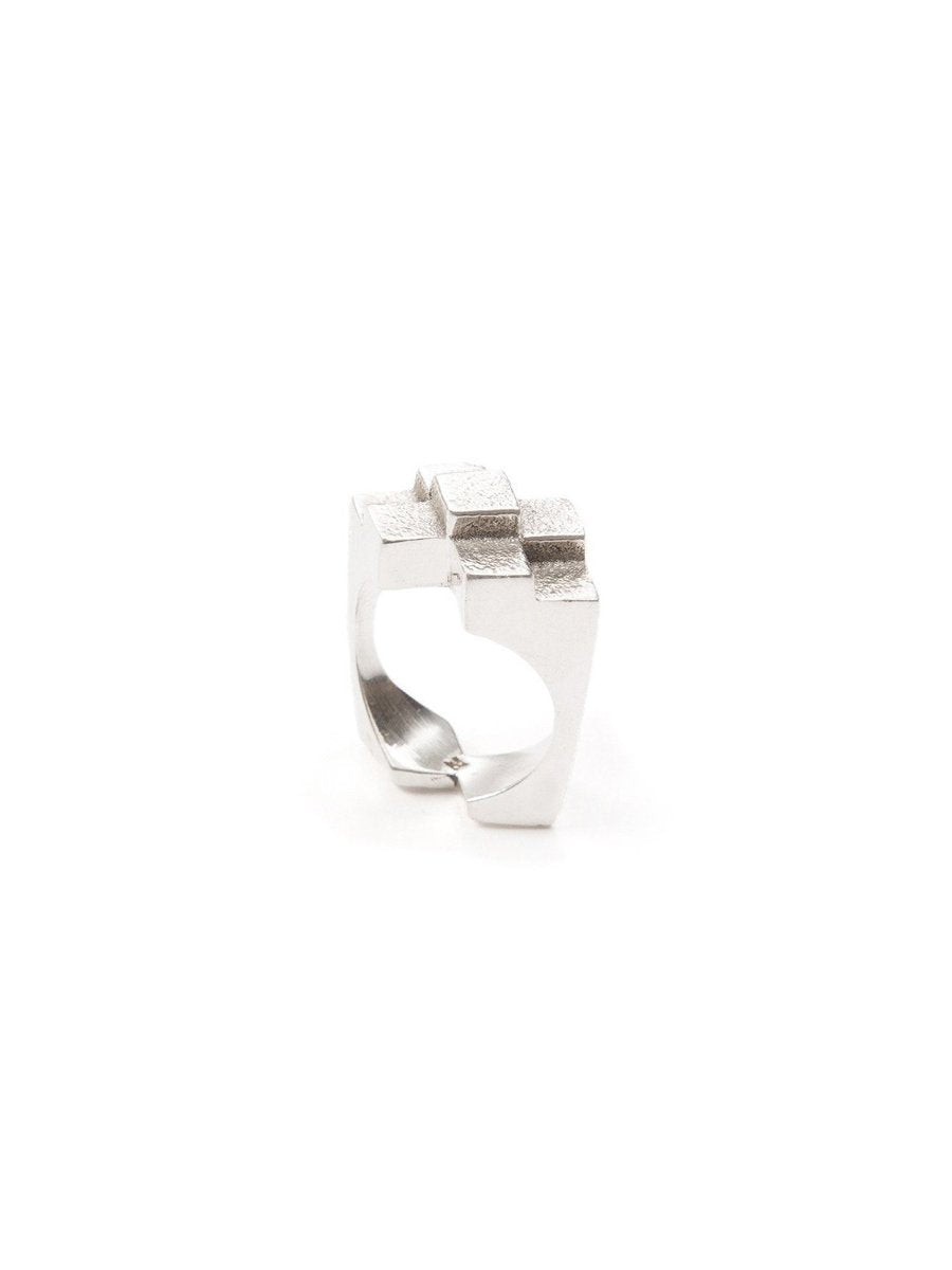 Original Icon Ring in Sterling Silver