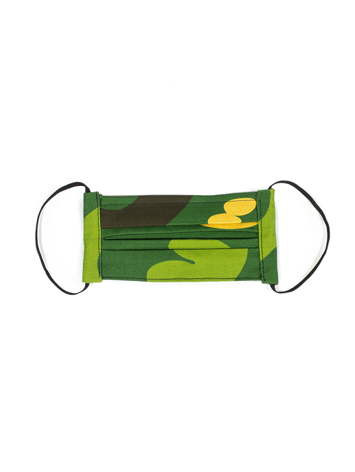 Camouflage Face Mask (v2.0) Green