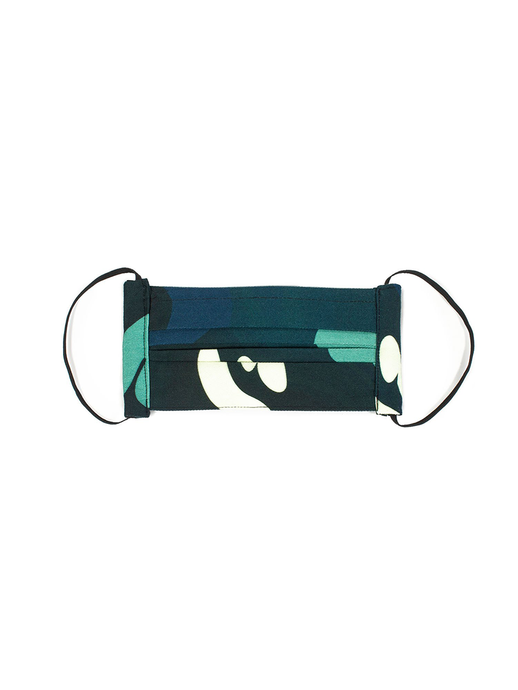 Camouflage Face Mask (v2.0) Blue