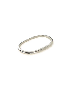 Pure Double Ring in Sterling Silver