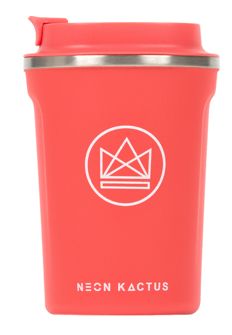 Neon Kactus Vacuum Insulated Coffee Cup - Dream Believer 12oz