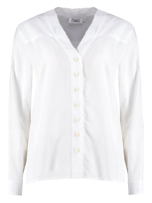 Imdividual organic cotton classic white shirt made in London UK