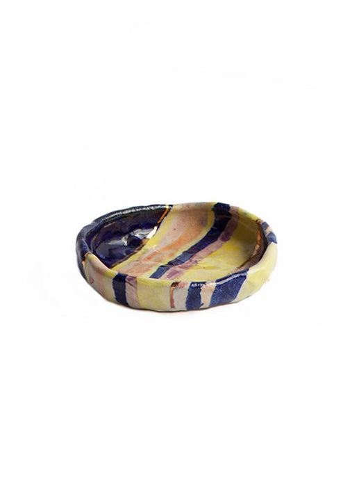 Kana Striped Treasure Plate - LDC