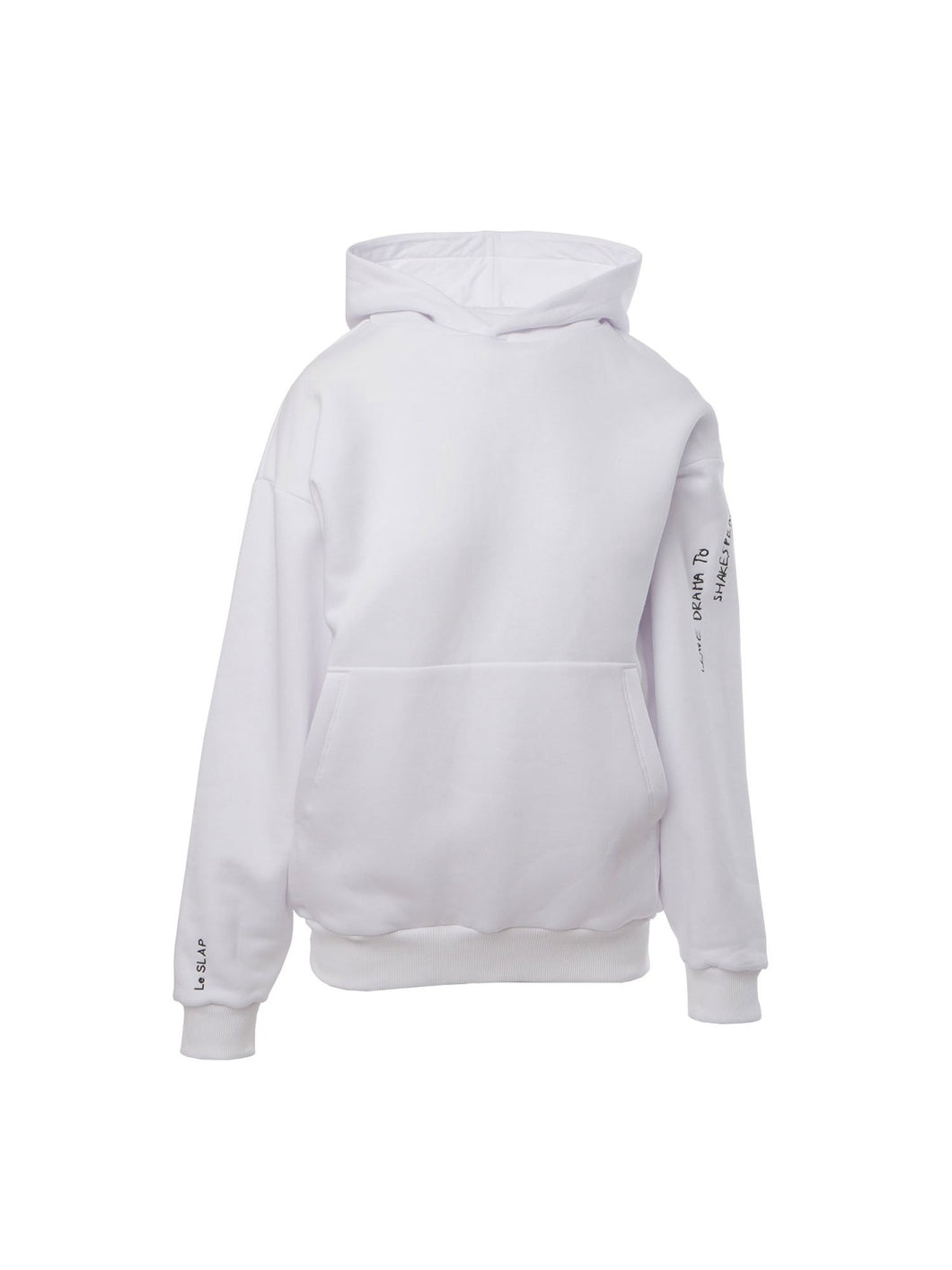 Shakespeare Oversize Hoodie in White